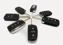 Изготовленные автомобильные ключи
