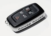 изготовленный чип ключ range rover